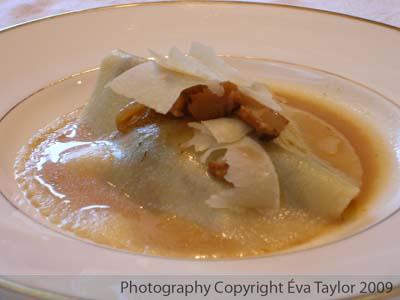 Eva's Rustic Mushroom Ravioli