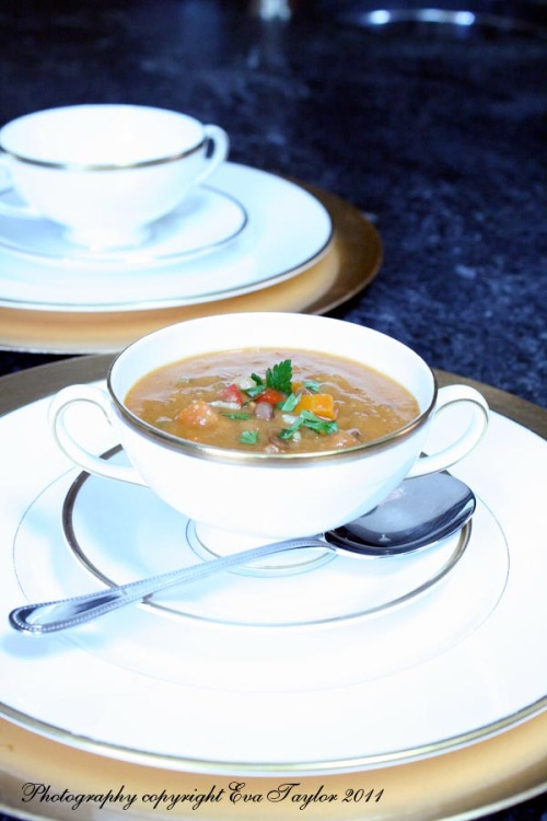 Harira a traditional Morocca Soup