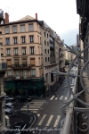 Opposite view from our room toward La République. The room was nothing special!