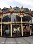 A lovely carousal near our hotel on La République