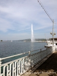 Lake Geneva with the Jet d'Eau