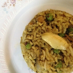 Avocado Rice from Spicy, Quirky and Serendipitous
