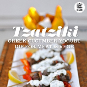 Make Tzatziki from Bunny, Eats, Design