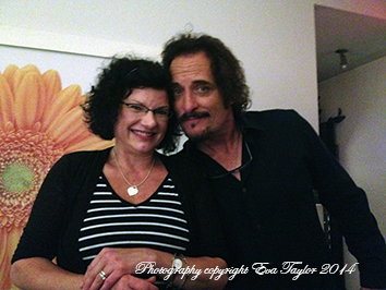 "For those of you in ""The Know"" that's a photo of Tiggy and I!"
