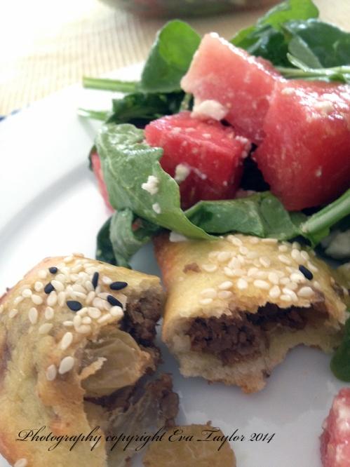 Empanada and salad2