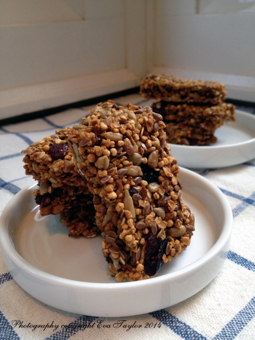These are crunchy bars.