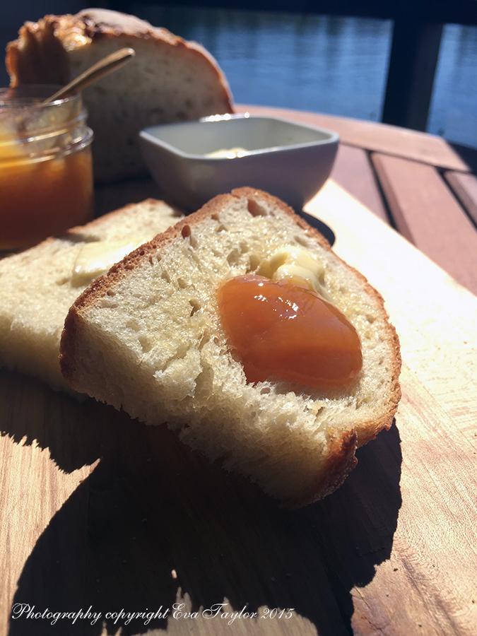 Jam, peaches, preserves,