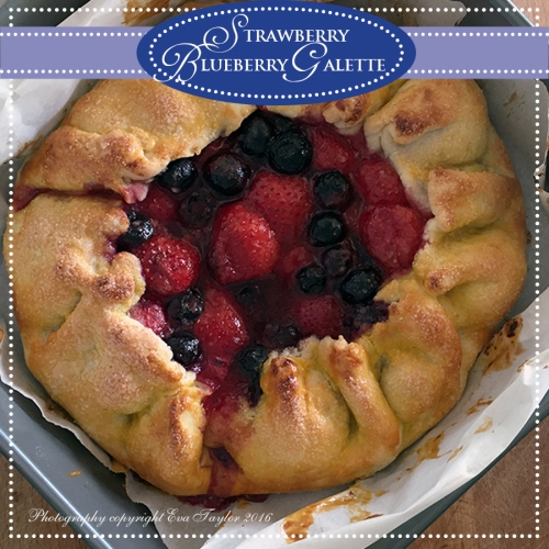 StrawberryBlueberryGalette