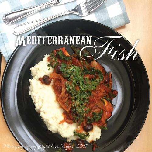 Mediterranean Sriracha Fish